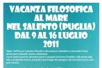 Vacanza filosofica 2011